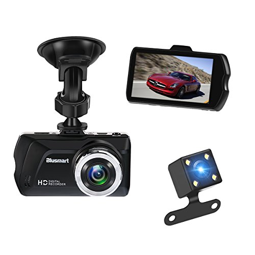 """Dash Cam, 3.0\"""" FHD 1080P 170° weitwinkel Kamera Video Kanal für Rückfahrkamera. Armaturenbrett Kamera, G-Sensor, Schleifenaufnahme, Parküberwachung, Nachtsicht. 16 GB TF Card ist enthalten"""