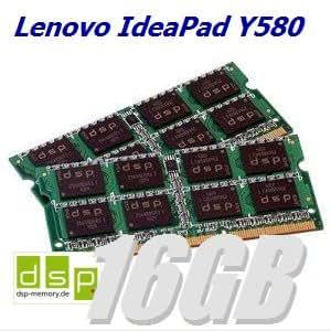 16Go Mémoire RAM pour Lenovo IdeaPad Y580(Set de 2modules)