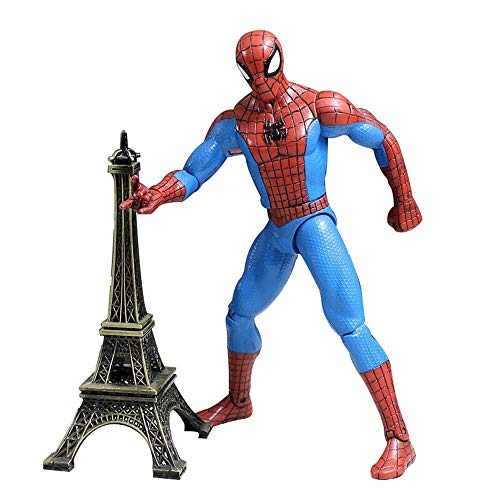 MA SOSER Marvel Avengers 3: 8-Zoll-außergewöhnliche Spider-Man-Action-Figur (Gelenk kann aktiv Sein), Marvel Child Boy Spider-Man-Spielzeug - Bag Pack Spiderman