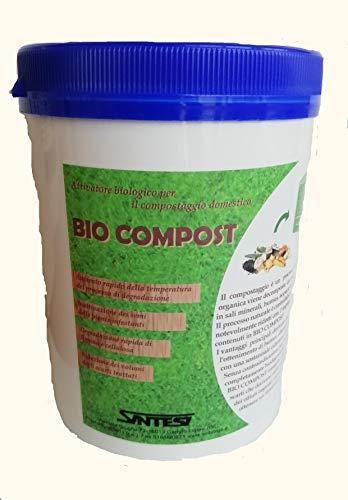bio compost gr.800 attivatore biologico compostaggio domestico