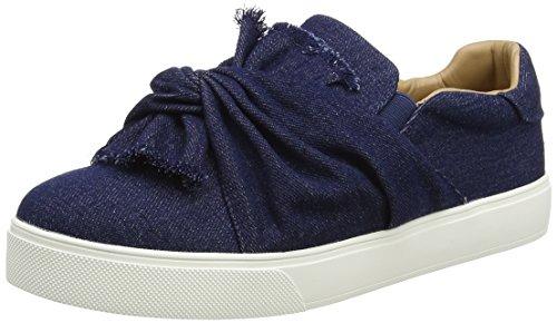 Aldo Women's Cadassa Low-Top Sneakers, Blue (2 Navy), 6 UK