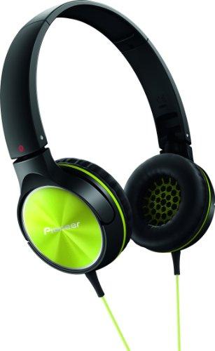 SE-MJ522-Y Nero/Verde Lime Cuffia con Archetto