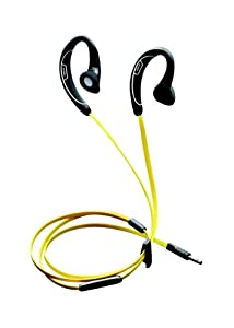 Jabra Sport cuffie (jack 3,5-mm, Made for Apple), Giallo/Nero