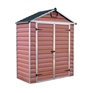 Palram 6ft shed (6×3, Amber)