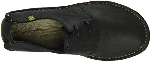 El Naturalista Damen Nf80 Pleasant Black / Rice Field Derby Schwarz (BLACK N01)