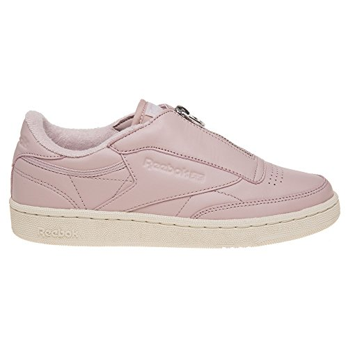 Reebok Club C 85 Zip Femme Baskets Mode Rose Rose