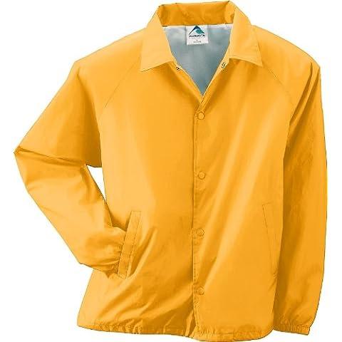 Augusta Sportswear Hombre Nailon Coach chaqueta/Forro