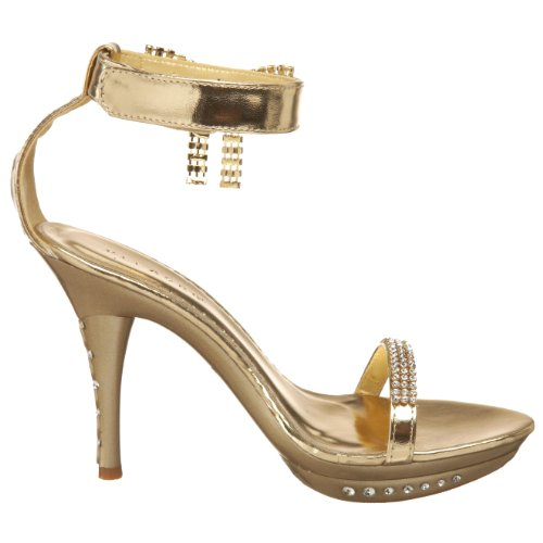 Platform Open 26 Monet 39 Toe Pattino Pleaser Sintetico wqfpRBgR8