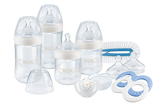 Nuk Starter Set Nature Sense Bleu