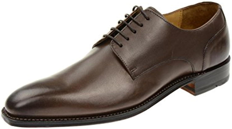 Gordon & Bros4374 Brown Milan - zapatos con cordones Hombre -
