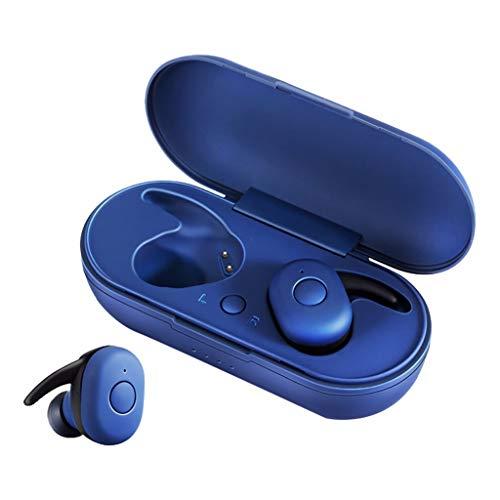 Auricular inalámbrico Bluetooth 5.0 - IPX4 Auriculares Impermeables Mini Auriculares estéreo para Auriculares en la Oreja para Deportes al Aire Libre Correr Viajes