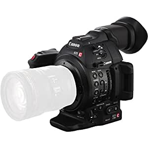 Canon Cinema EOS C100 Mark II Handheld camcorder 9.84MP CMOS Full HD Black - Camcorders (9.84 MP, CMOS, 8.29 MP, 8.29 MP, Canon EF,Canon EF-S, Memory card)