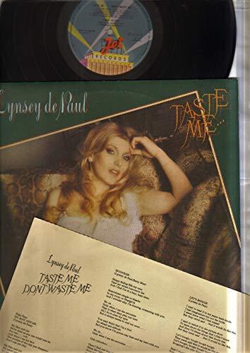 LYNSEY DE PAUL - TASTE ME - LP vinyl