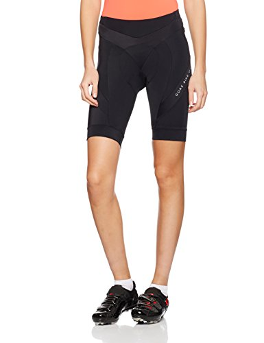 GORE BIKE WEAR Damen Power Tights Kurz, Black, 42 (Bike-shorts Damen)