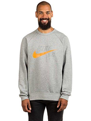 Nike SB Herren Oberteile / Pullover Icon dk grey heather/circuit o