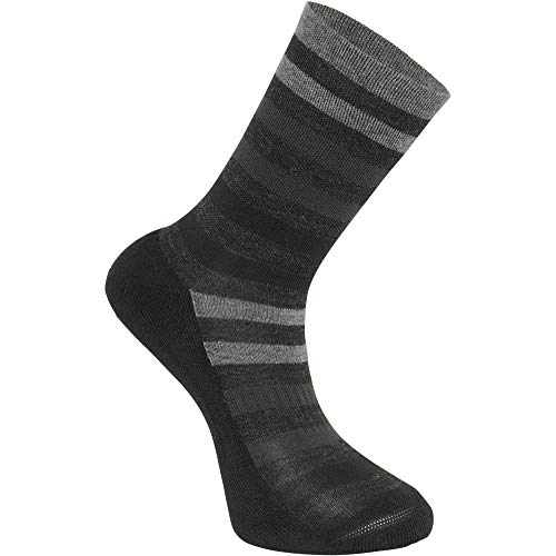 b5feacc9a83 Madison Isoler Merino 3-Season Sock L Black