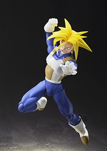 TAMASHII NATIONS Bandai Super Saiyan Trunks (Cell Saga Version) Dragon Ball Z Action Figure 5