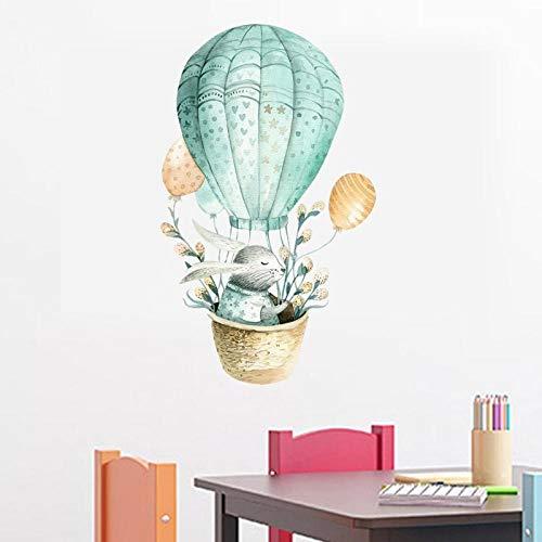 Wandtattoo Sticker Kinderzimmeraufkleber, Ballonhäschenwandaufkleber, Selbstklebendes Papiergeschenk Des Wohnzimmerschlafzimmers