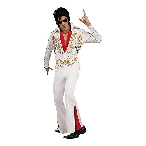 Generique Elvis Presley-Kostüm für Herren XL (Für Erwachsene Elvis Presley Kostüm)