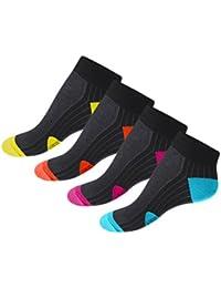 8 Paar Funktion Sneaker Socken Laufsocken mit Mesh-Einsatz Größen 35 bis 46