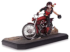 DC Comics DC Direct - Figurine Harley Quinn Deluxe Statue Gotham Garage 38cm - 0761941327709