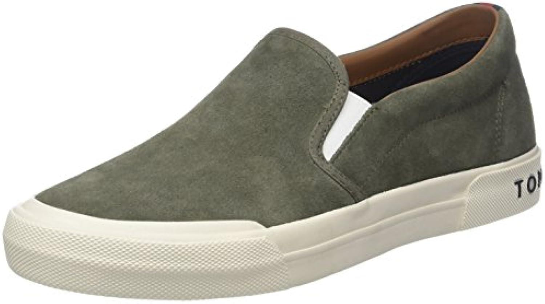 Tommy Hilfiger Herren Heritage Suede Slip on Sneaker
