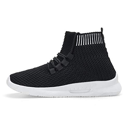 Quaan Mode Frauen Mesh Sneakers Casual elastische Socken Schuhe Student Laufschuhe