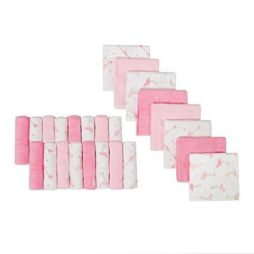 Babywaschlappen | Extra weiches und ultra saugfähiges Badetuch | Große Geschenke für Neugeborene und Säuglinge 24 Pack (Neugeborenes Baby Waschlappen)