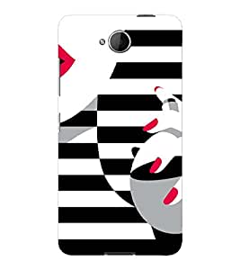 PrintVisa Fashion Perfume Design 3D Hard Polycarbonate Designer Back Case Cover for Nokia Lumia 650