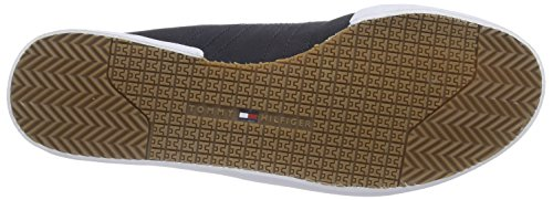 Tommy Hilfiger P2285LAYOFF 1C_1, Chaussons homme Multicolore - Mehrfarbig (MIDNIGHT/TANGO RED 403)
