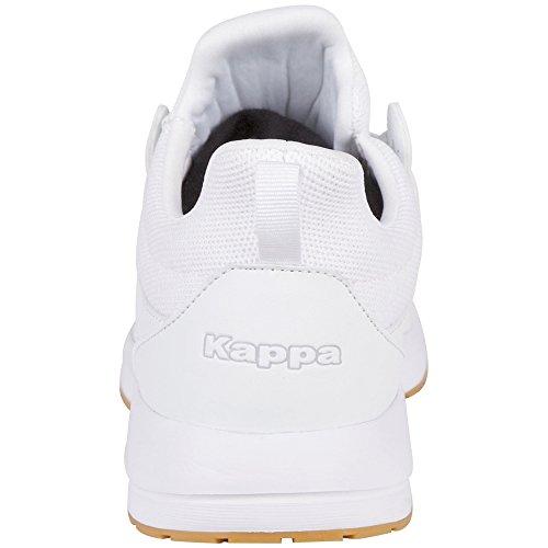 Kappa Tray II Sun, Sneaker Unisex – Adulto Weiß (1010 White)