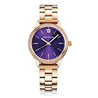 Mini Focus Womens Quartz Watch, Analog Display and Stainless Steel Strap - MF0043L.05