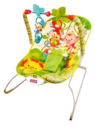 Excellent Toyshine Newborn To Toddler Vibrating Rocker Chair With Calming Vibrations Adjustable Mode Assorted Design Short Links Chair Design For Home Short Linksinfo