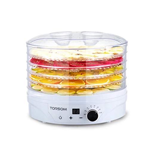 LYX® Fünf-Schicht-Trockner, Trockenfrüchte Maschine Food Dehydrator Vegetable Air Dryer Home Heimtierfutter Fruchtmedizin-Trockner Mehrschicht-Trockenmittel für die Lebensmittel 35-70 ° C, geeignet fü