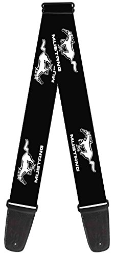 ford-automobile-company-mustang-logo-guitar-strap