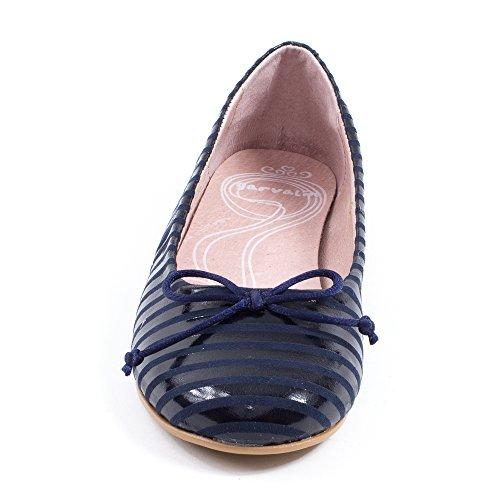 Garvalin Ballerines Bleu vernis 162653A Bleu