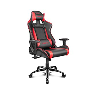 Drift DR150 – DR150BR – Silla Gaming, Color Rojo