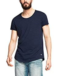 edc by ESPRIT Herren T-Shirt 056cc2k023 - Als Lässiges Longshirt