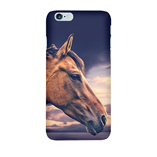 iPhone 4/4S Coque photo - Steppe cheval I