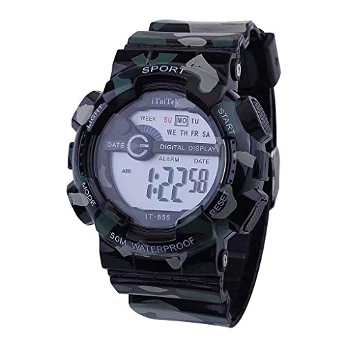 Uhren Offen Skmei Männer Fashion Outdoor Sport Armbanduhren Luxus Gold Quadrat Digitale Uhren Edelstahl Military Watch Uhren Hombre