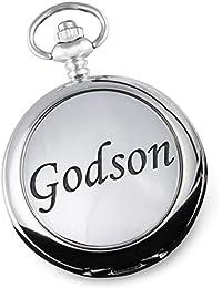 Godson Pocket Watch Christening Baptism Birthday Christmas Wedding God Son Gift