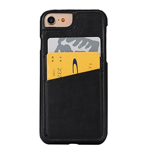 Case per iPhone 6 Card ,Cover per iPhone 6, Bonice Vintage Synthetic Leather Wallet Ultra Slim Professional Executive Snap On Cover with 2 Card Holder Slots Case Cover per iPhone 6/6S (4.7 pollici) +  Modello 01