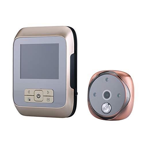Jamicy Elektronische 3,0-Zoll-Display-Türklingel-Anzeige Nacht-Infrarot-Nachtsicht - Infrarot-system Security-kameras