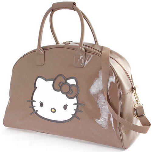Grand sac de voyage Hello Kitty by Camomilla Beige