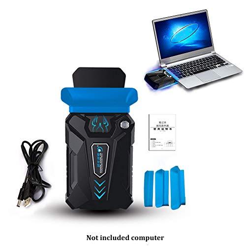 MFEI Cool Laptop PC Cooler-Gaming Refroidisseur pour Ordinateur Portable Haute Performance avec Ventilateur Aspirant pour Refroidissement Rapide Action-Silent USB Extracteur d'air Chaud Externe