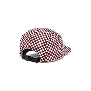 ac07aab4a9b Vans 5 Panel Hat 2018 Buy Vans Davis 5 Panel Checker Hats Red Snowy ...