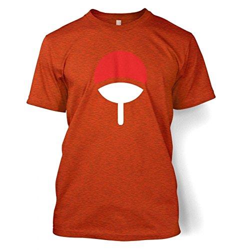 Uchiha Family Männer T-Shirt Antique Orange