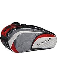 Victor raqueta funda Doub Lethe rmobag, rot/grau/weiß