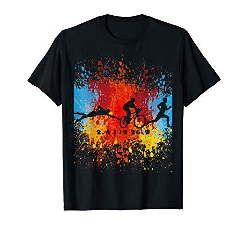 triathlon swim bike run tri gear T-Shirt