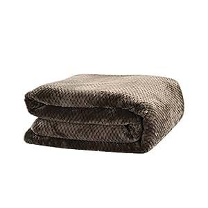 pueri couverture chaude hiver jet de lit flanelle couver lit plaid fourrure fausse 70 100cm. Black Bedroom Furniture Sets. Home Design Ideas